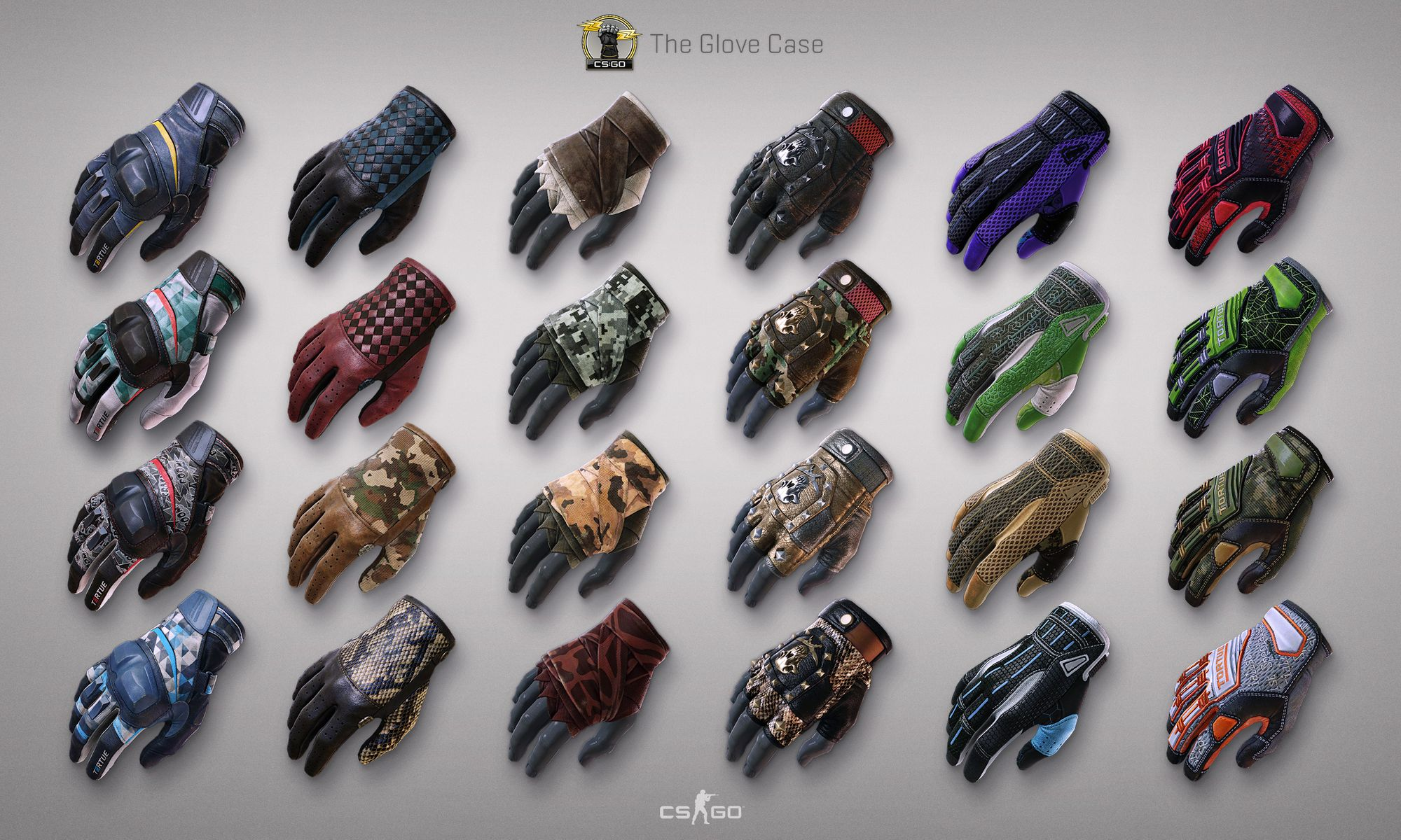 Brothers In Arms & Glove Case. Обновление CS:GO 29.11.2016